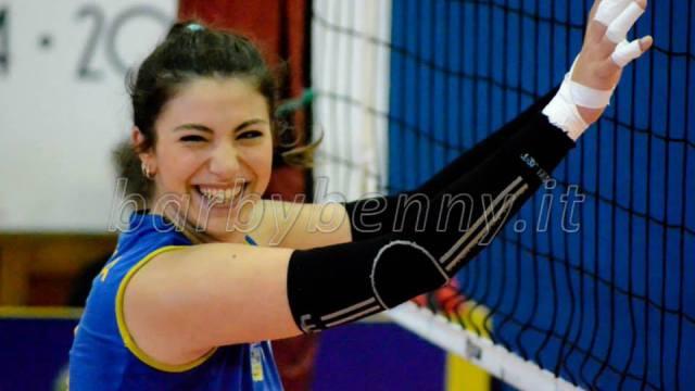 Ilenia Cammina sabaudia pallavolo