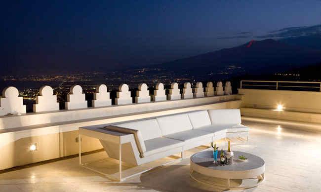 Hotel El Jebel, boutique hotel Taormina Italie