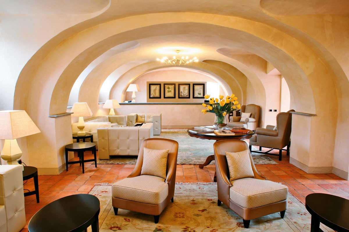Hotel Relais del Sant'Uffizio, Cioccaro di Penango Asti - Piémont Italie (Salon)