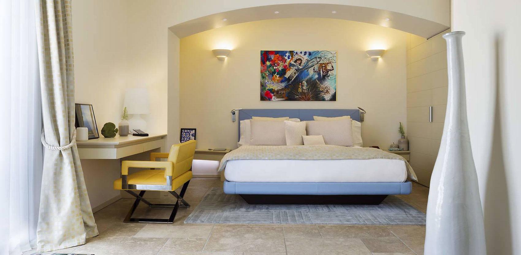 Melia Villa Capri, hotel design : Junior Suite