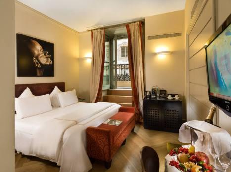 Town House Galleria, hotel de luxe Milan Italie : chambre deluxe