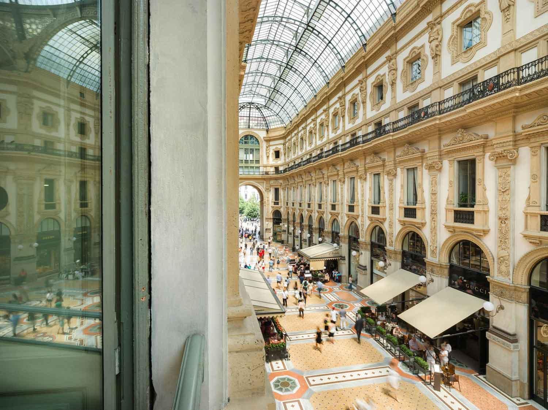 Town House Galleria, hotel de luxe au coeur de la galerie Vittorio Emanuele II de Milan Italie