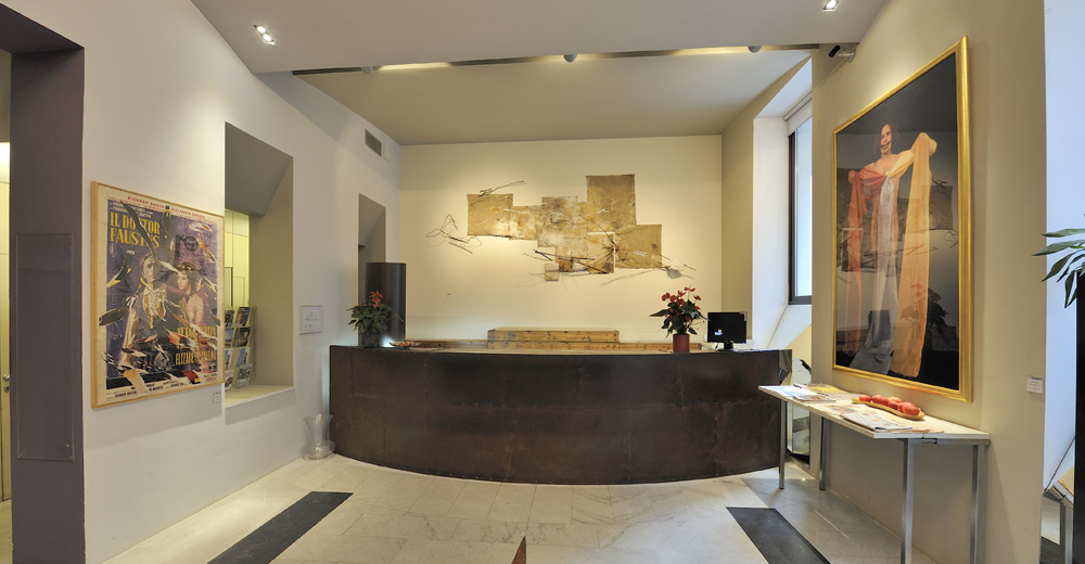 Boston Art Hotel design Turin Italie (Via Massena, 70)