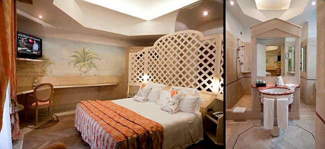 Chambre standard hotel Isa Rome