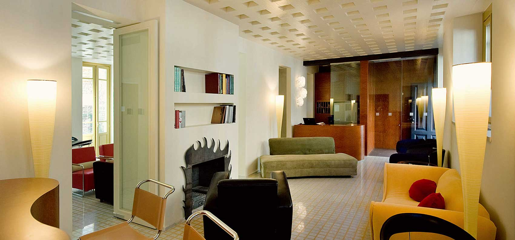 Boutique Hotel Petronilla, Bergamo Italie (hall d'accueil)