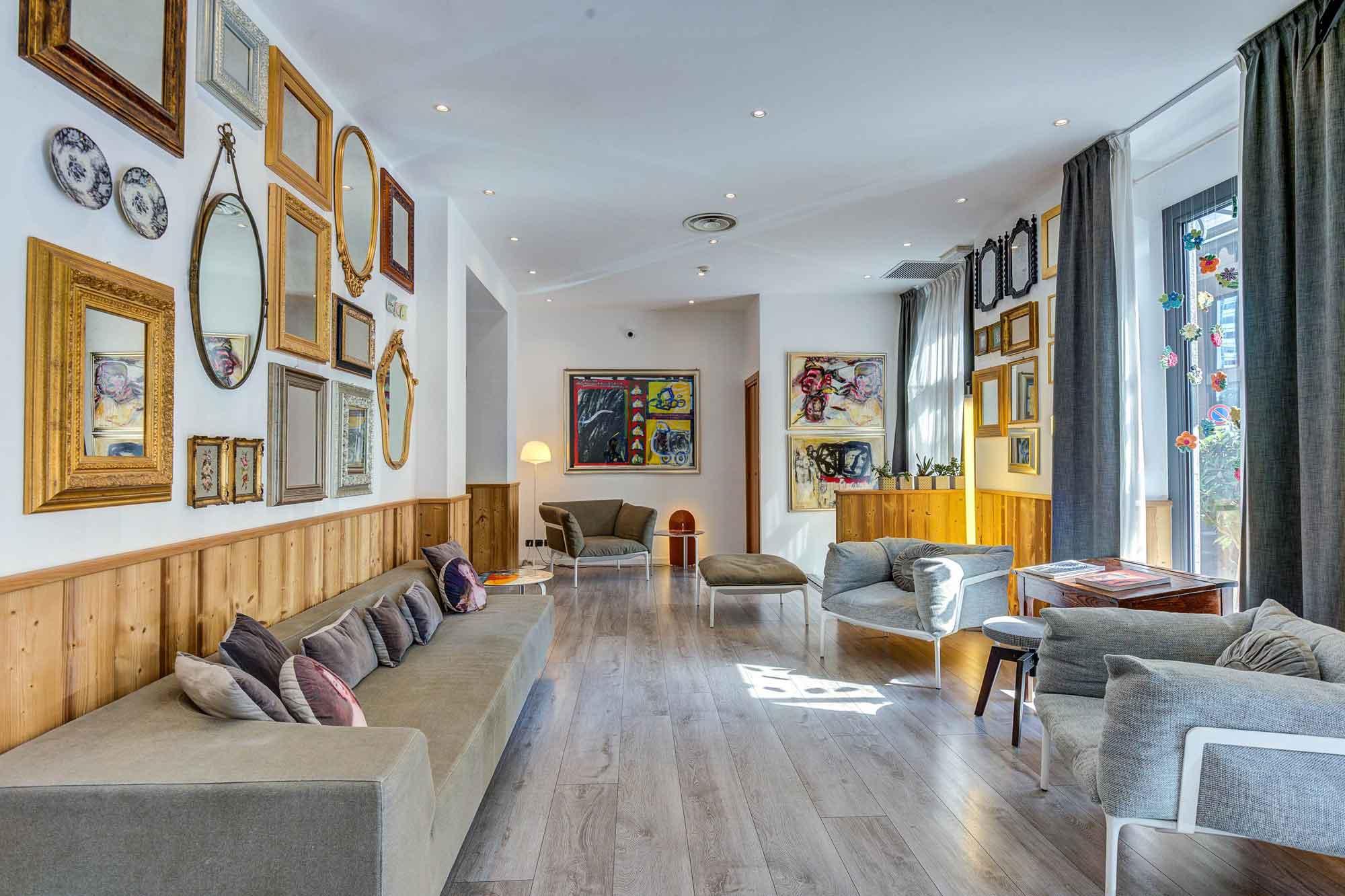 Hotel Bernina Milan, Italie : Lobby / Réception