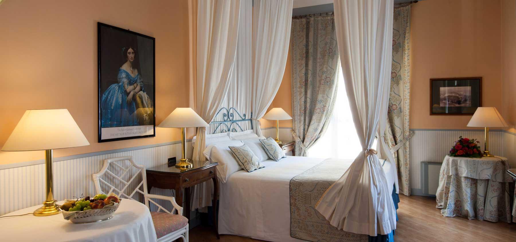 Hotel Victoria Turin Italie (chambre)