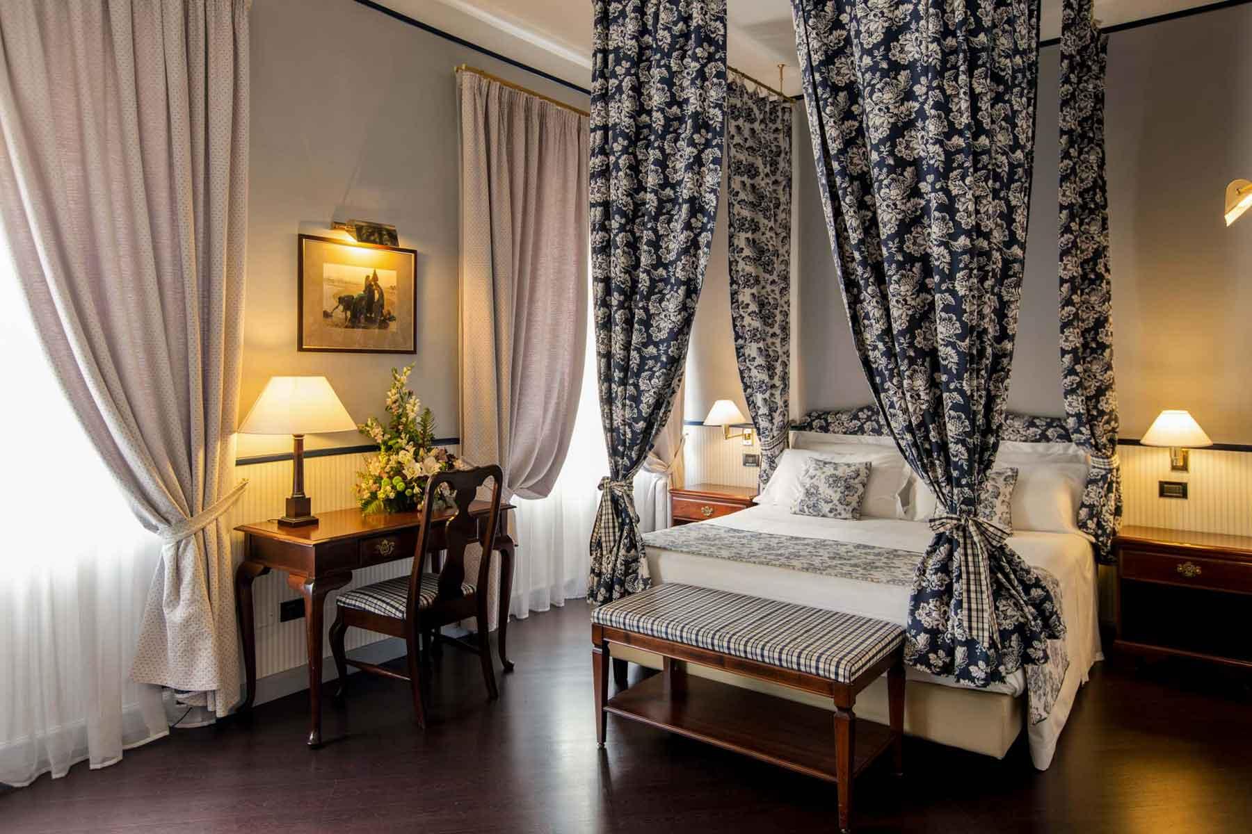 Hotel Victoria Turin Italie (chambre Deluxe)