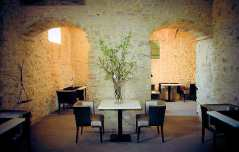 Castello di Montignano, hotel de luxe en Ombrie (espace Bar)