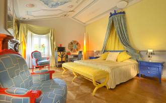 Byblos Art Hotel Villa Amistà Verona : Chambre