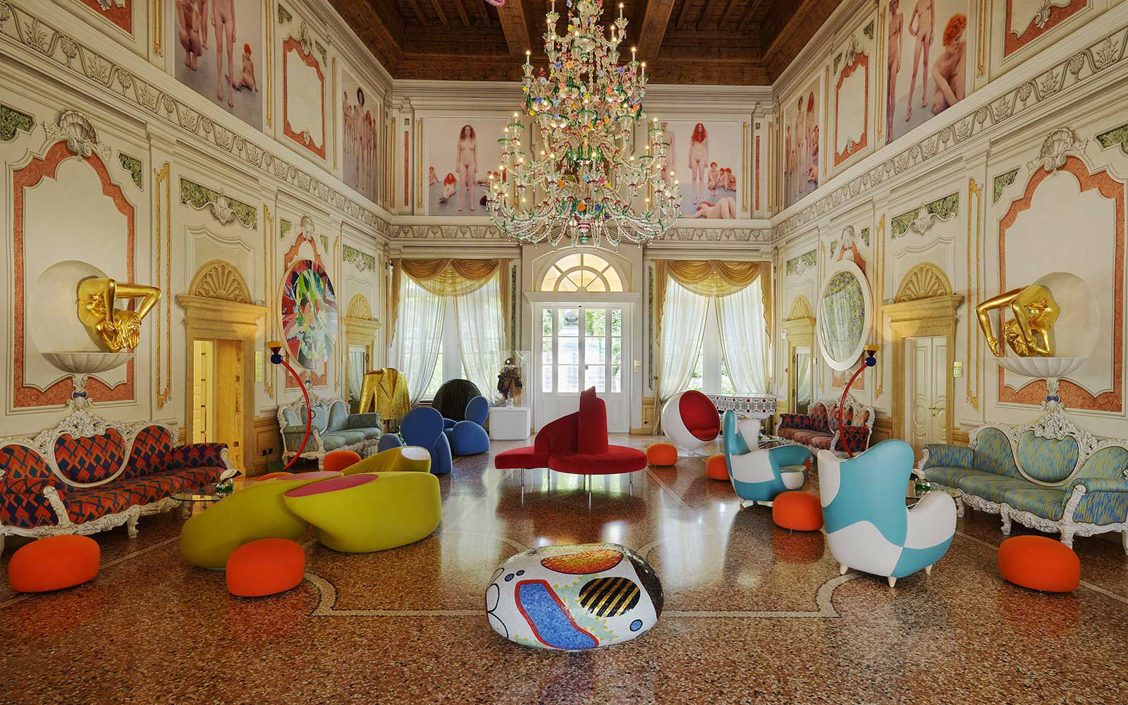 Byblos Art Hotel Villa Amistà Verone : Salon
