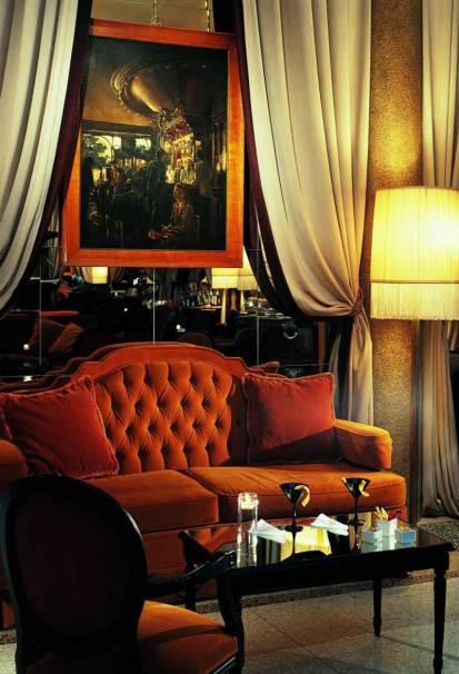 Grand Hotel et de Milan, Italie : Salon