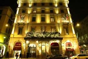 Grand Hotel et de Milan, Italie : Façade extérieure