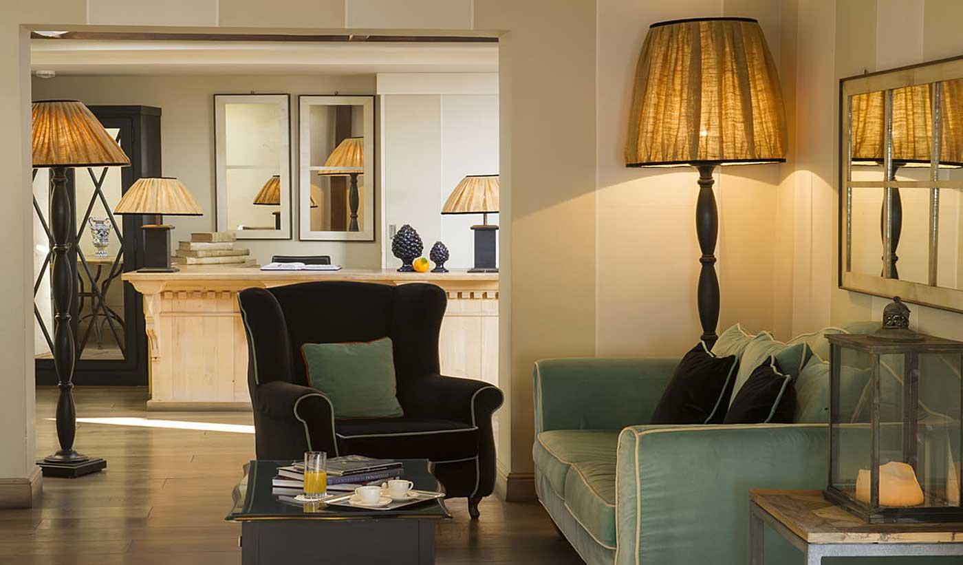 Villa Ducale Boutique Hotel Taormina, Sicile (salon lounge)