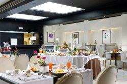 The First Hotel Rome : Petit déjeuner