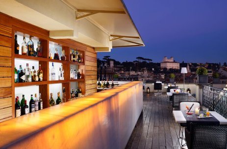 The First Art Hotel Rome : Roof