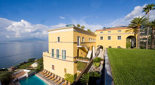 Grand Hotel Angiolieri, 5 etoiles sur la peninsule sorrentine en Italie