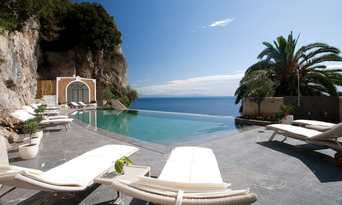 Grand Hotel Convento di Amalfi Italie, hotel 5 étoiles vue mer (Piscine)