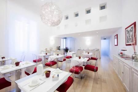 Ciliegina Hotel Naples Italie (salle de petit déjeuner)