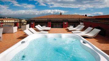 La Ciliegina Lifestyle Hotel : jacuzzi