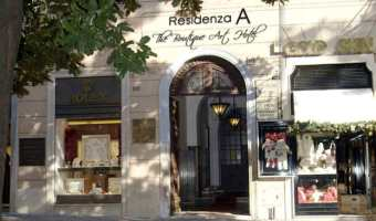 Residenza « A » The Boutique Art Hotel Rome, Italie