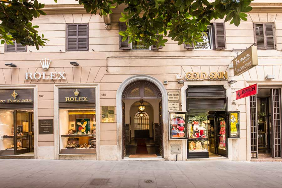 Residenza A, Boutique Art Hotel Rome Italie