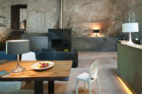 Monaci delle Terre Nere, hotel de charme en Sicile : salon
