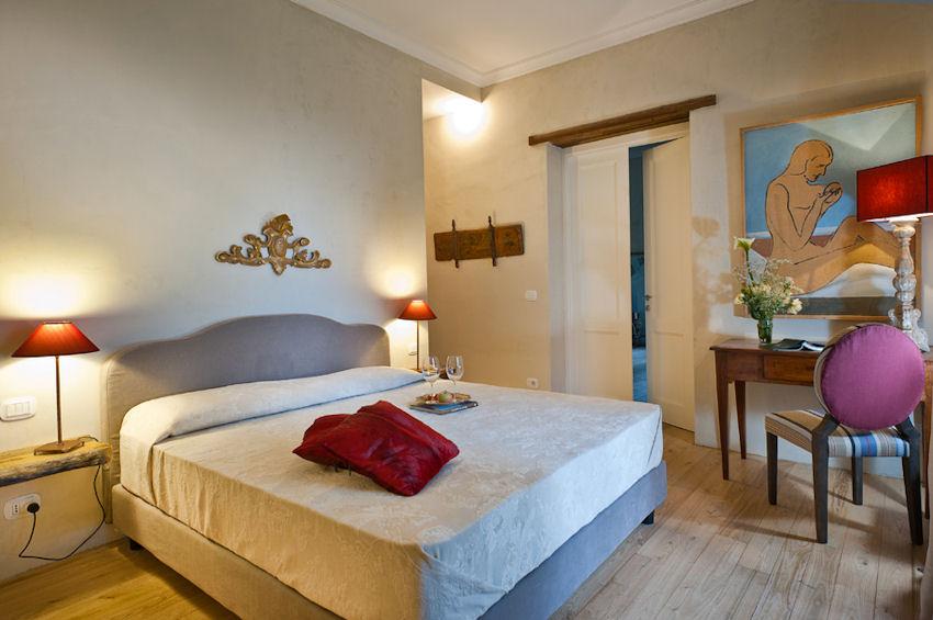 Boutique Hotel Monaci delle Terre Nere (Sicile) : Chambre classique