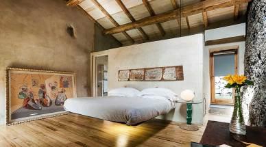 Hotel Monaci delle Terre Nere (Sicile) : Chambre Deluxe