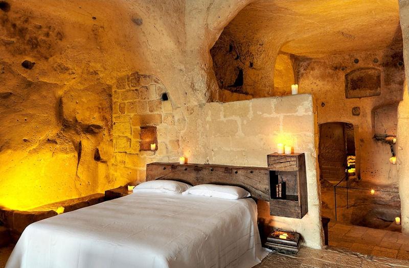 Grotta 4 Executive Suite - Sextantio Le Grotte Della Civita Sassi Matera