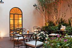 Hotel The Fifteen Keys, Rome : Patio
