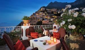 Le Sirenuse Hotel de luxe à Positano, côte Amalfitaine (Italie)