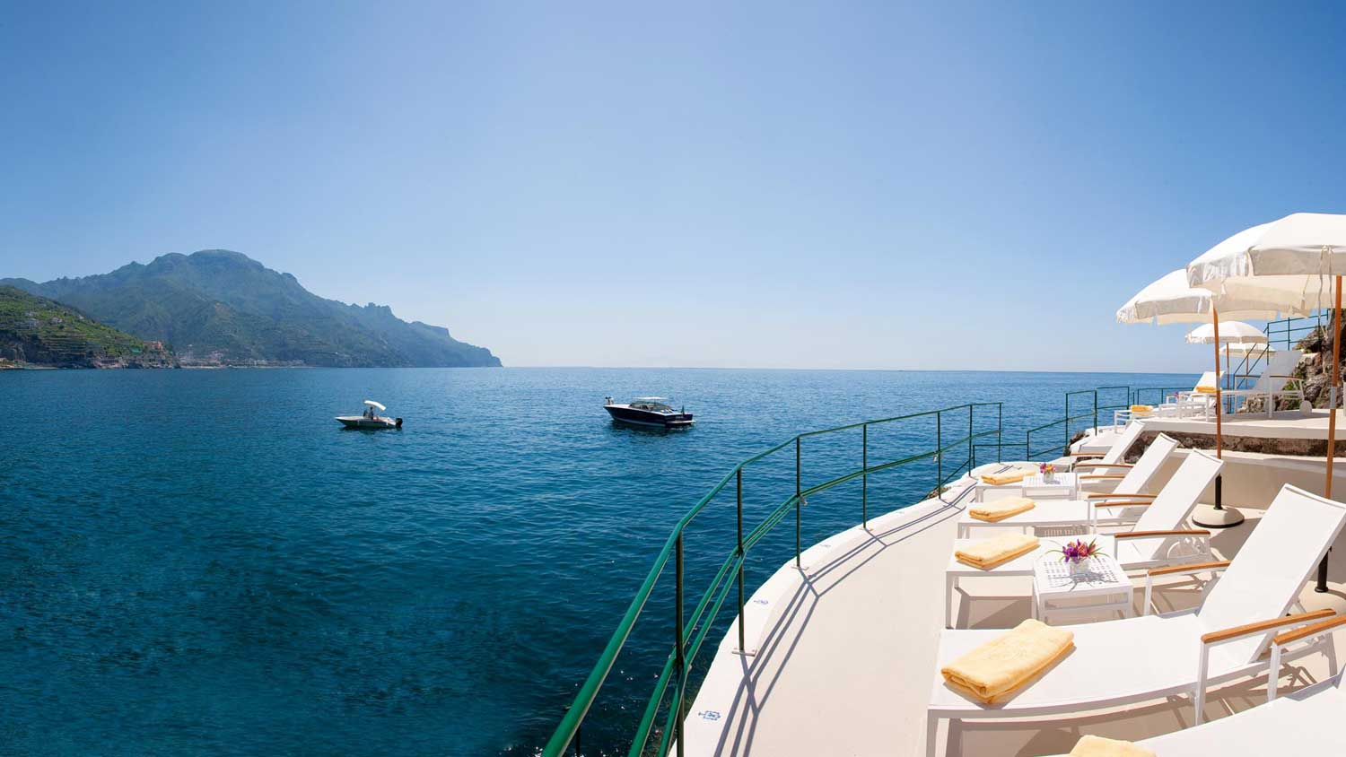 Hotel Palazzo Avino Ravello Italie - Clubhouse by the Sea