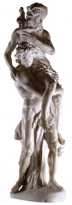 Gianlorenzo Bernini, Aeneas, Anchises, and Ascanius, 1618-19, marmer. Galleria Borghese, Rome