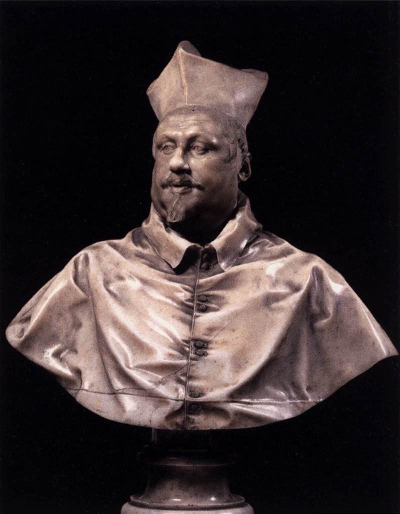 Gianlorenzo Bernini, Buste van Scipione Borghese, 1632