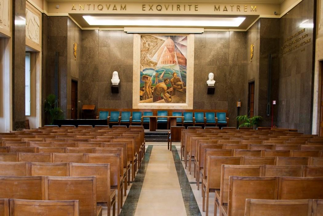 Aula Magna Universita di Perugia
