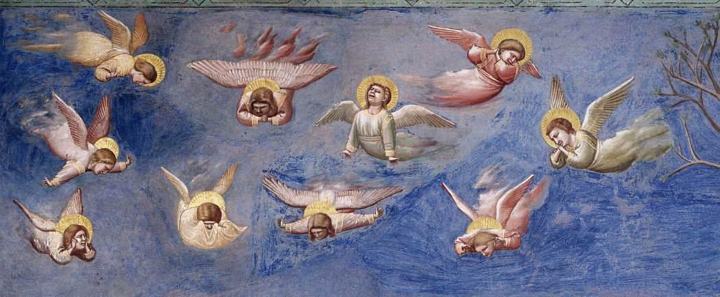Giotto di Bondone, Het leven van Christus, Bewening,, Cappella Scrovegni Arenakapel Padua