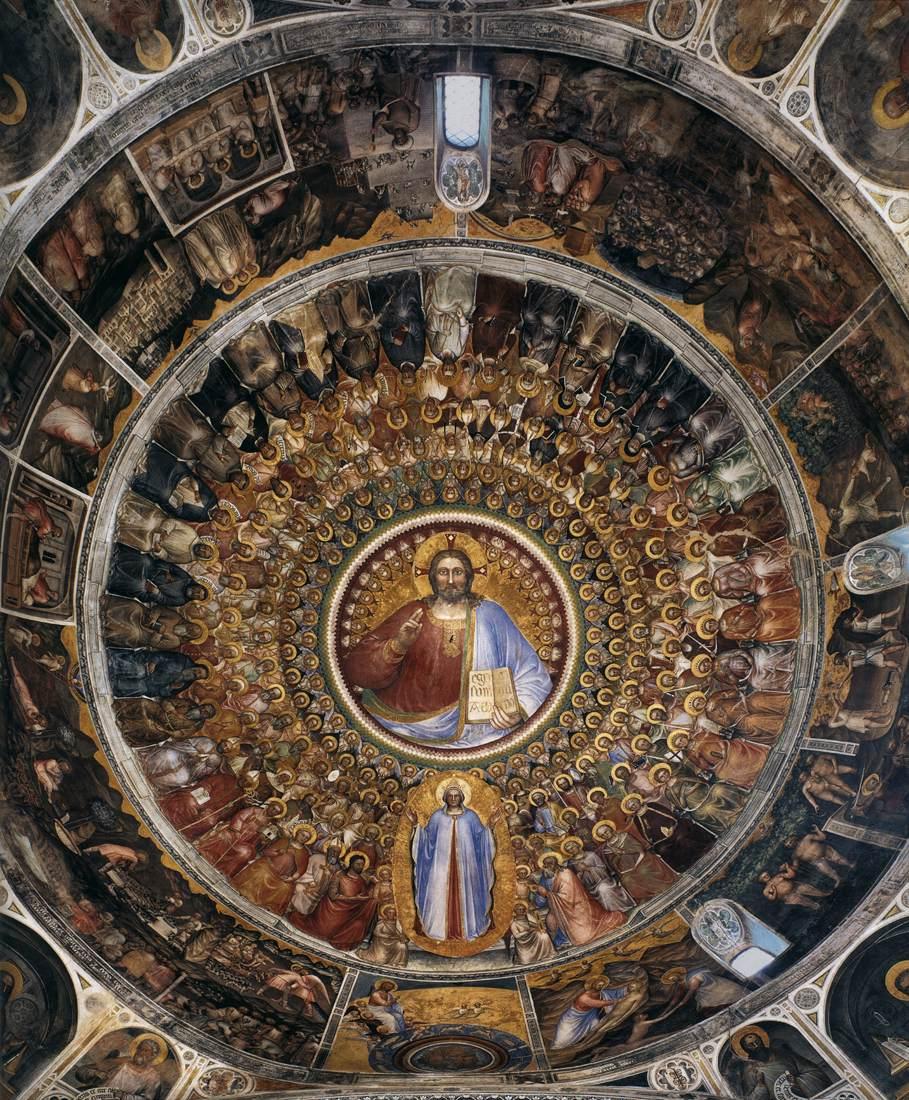 Paradijs, Giusto de' Menabuoi, Baptisterium, Padua