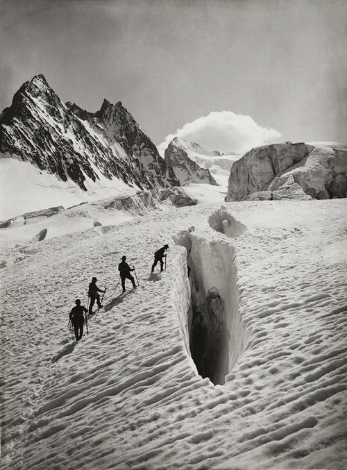 Vittorio Sella, Glacier Blanc
