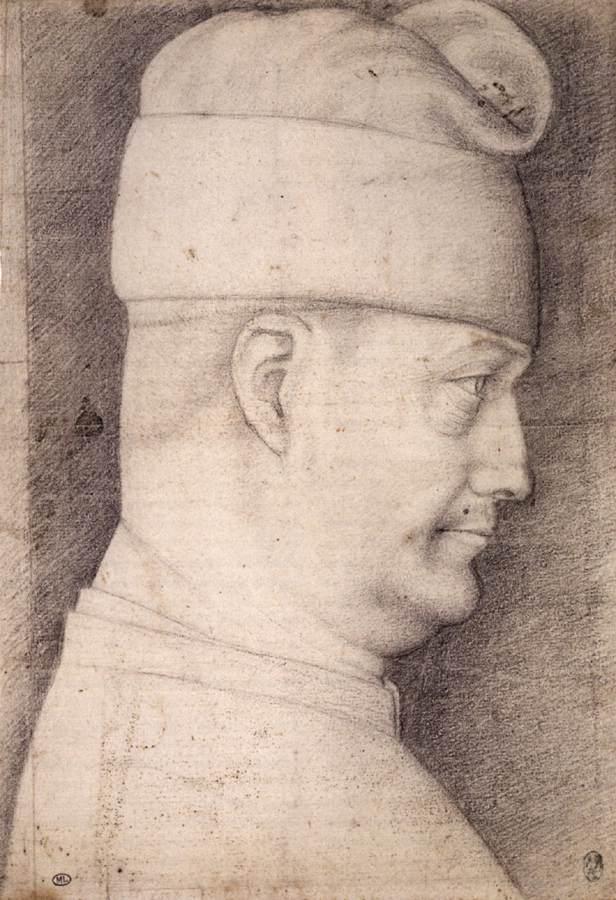 Pisanello, Filippo Maria Visconti, Musée du Louvre, Parijs