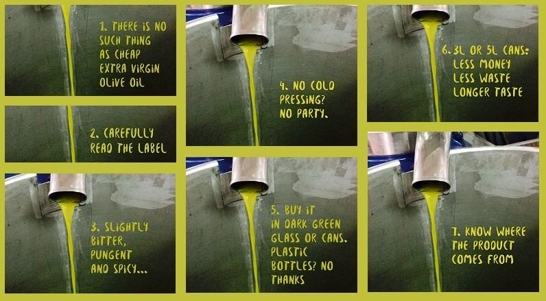 7 tips bij het kopen (en het genieten) van extra vergine olijfolie