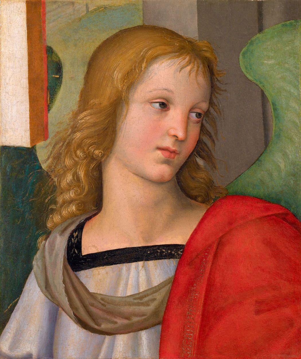 Rafaël, Engel, 1501, Pinacoteca Tosio Martingo Brecia