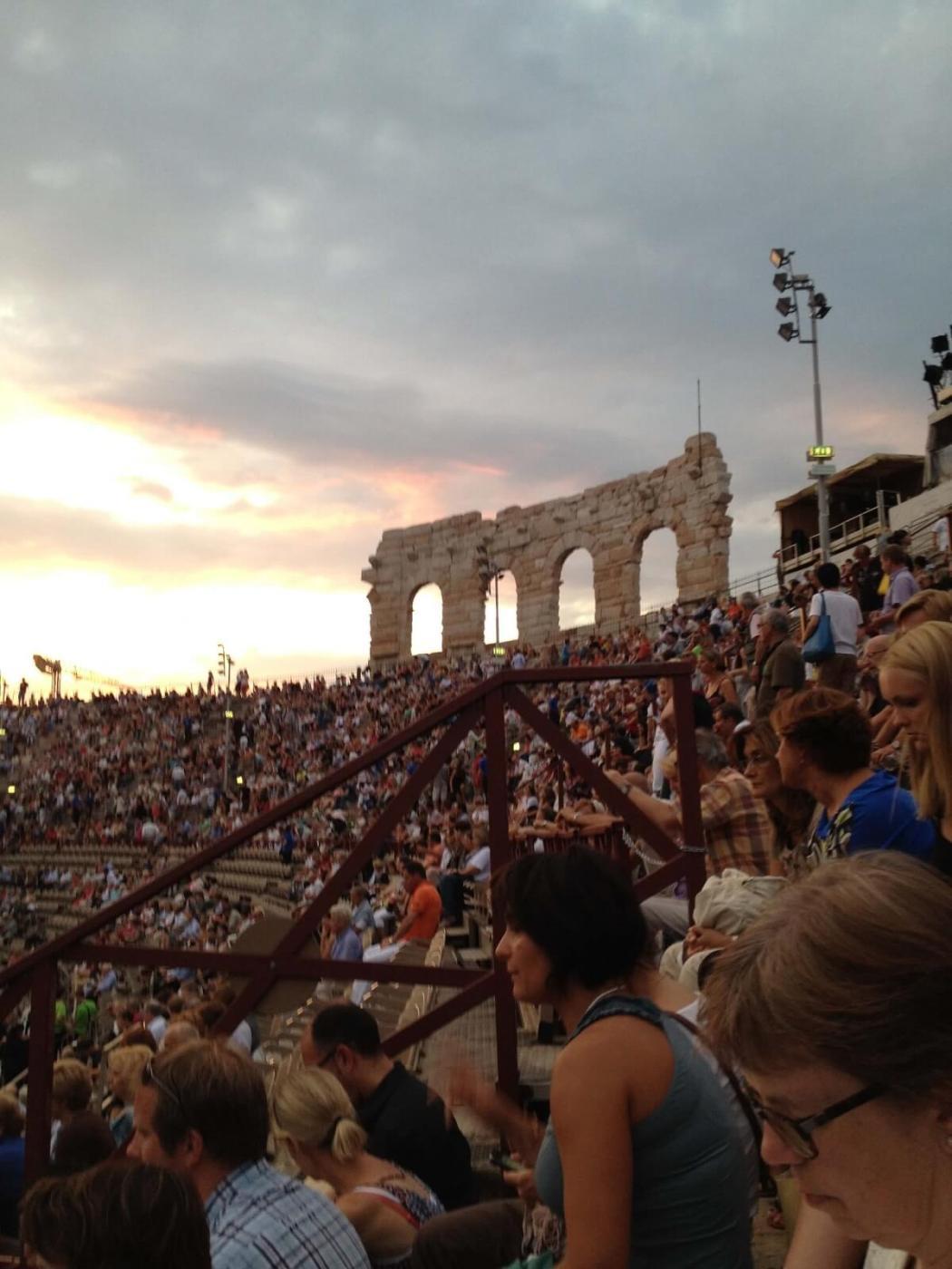 Operashow in de bekende Arena van Verona