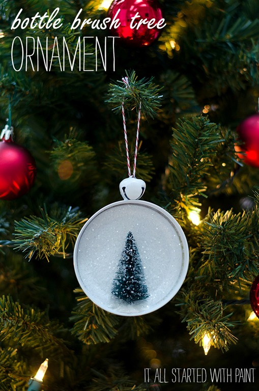 Bottle Brush Tree Ornament