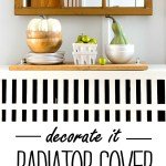 Radiator Cover Fall Mantel Fantel It All Started With Paint