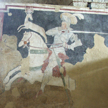 Fresco of Tancredi and Doe
