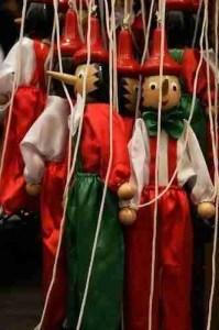 Pinocchio Marionettes in Collodi, Tuscany