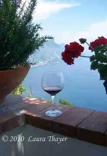 Wine Glass Amalfi Coast