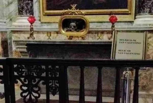 San Valentino in Santa Maria in Cosmedin, Rome