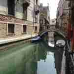 A placid canal in Venice